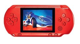 Wholesale Lcd Portable Game Console - New Arrival Game Player 2.5 Inch LCD Screen PXP3(16Bit) Handheld Video Game Player Console 5 Colors Mini Portable TV Game