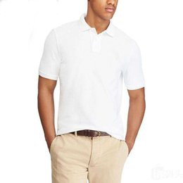 Wholesale fashion clothes brands - Top Brand clothing New Men Polo Shirt Men Small Horse Embroidery Business & Casual solid male polo shirt Short Sleeve breathable polo shirt