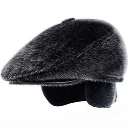 7880ce68e9142 Distribuidores de descuento Sombreros De Invierno Orejeras Hombres ...