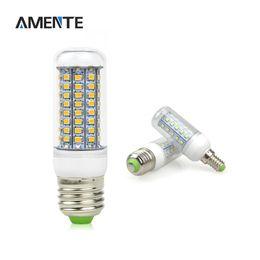Wholesale e14 48 smd - Super bright E27 E14 LED Bulb light Replace CFL 7W 12W 15W 20W 25W 30W 35W 220V Spotlight 2835SMD 30 48 56 69 89 102 LEDs lamp