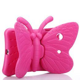 Kinder shockproof ipad fall online-Kinderkinder niedlicher Schmetterlings-Karikatur-stoßsicherer sicherer EVA-Schaum-weicher Kasten für Apple iPad Mini 2 3 4 Ipad Luft ipad Pro 9,7 neuer 2017/2018