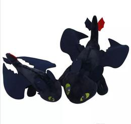 Argentina Cómo entrenar a Dragon Plush Dolls Regalo de cumpleaños de los niños o amigos Muñecas de peluche populares Tres tamaños pueden elegir Suministro