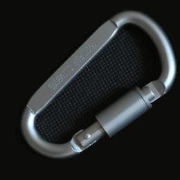 clássicos lembrança presente Desconto Cool man New Alta qualidade de alta resistência de alumínio Keychain Quick gancho ao ar livre acampamento barraca corda ferramenta de fixação.