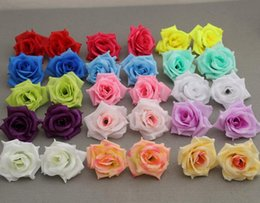 2019 trockenfruchtdekoration 100 p Künstliche Seide Kamelie Rose Gefälschte Pfingstrose Blüte 7-8 cm für Hochzeit Home Dekorative Flowewrs
