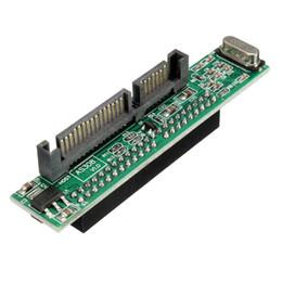 2.5 '' Kadın 44 pin IDE 7 + 15 22 pin Erkek SATA Sabit Disk Adaptörü Dönüştürücü 2.5