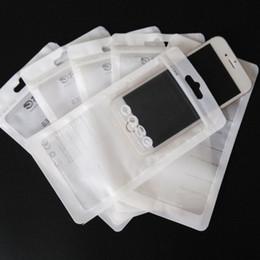 Paquete de la venta al por menor de la cremallera Bolsa transparente transparente Bolsas con cierre de cremallera Bolsas de plástico para empacar PVC OPP Cajas con agujero para colgar Para el iPhone Caso de Samsung Case desde fabricantes