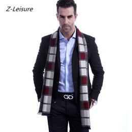 03d7571053ae19 2018 neue Plaid Männer Schal Fashion Brand Schal beste Weihnachtsgeschenk Winter  warme Schals Mann Casual Business Schals Warps MSF014 beste winterschals ...