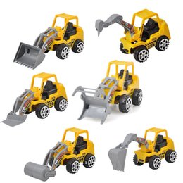 construction sets toys Coupons - Mini Car Toys Vehicle Sets Construction Bulldozer Excavator Engineering Vehicle Baby Kids Educational Toy Birthday Gift