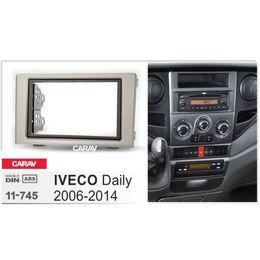 Radio fascias online-Carav 11-745 Car Radio Panel per IVECO Daily 2006-2014 Stereo Dash CD Trim Kit di installazione