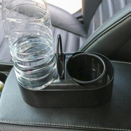 2019 пластиковые компьютерные стойки Автомобиль стайлинга автомобилей грузовик крепление ABS пластик двойное отверстие бутылки напитка прочный авто аксессуары воды держатель чашки держатель подставка