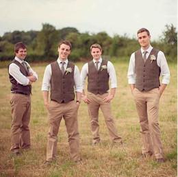 New fashion Brown tweed Coletes de Lã Espinha de Peixe estilo Britânico custom made Mens terno alfaiate slim fit Blazer ternos de casamento para homens de