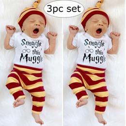 c659e0a8b13ba 12 months leggings Promo Codes - 0-2Y INS Summer 3PCS Newborn Baby Boys Top