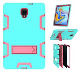 Canada 3 en 1 Kickstand Hybrid PC Couverture Cover Case antichoc Armure extérieure pour Samsung Galaxy Tab A 10.5 T590 T387 9.7 t820 IPAD 11 9.7 2018 supplier hybrid covers Offre