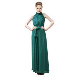 29a1c406cf8 Red Bandage Long Dress Party Multiway Bridesmaids Convertible Infinity Robe  Femme Sexy Women Boho Maxi Club Dress 2018