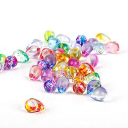 ffb1b62e5408 10x13 MM 5 Unids   lote Colores Mezclados Lágrima Gota de Agua Granos de  Cristal de Cristal Para La Joyería Que Hace DIY Pulsera Collar de Accesorios