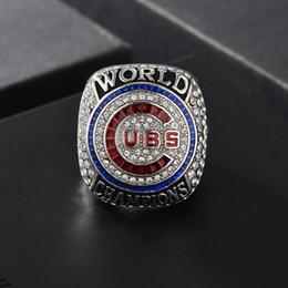 Canada vente en gros 2016 Chicago Cubs World Series Championship taille de la bague 8 - 14 2016 AAA + Offre