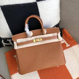 Canada célèbre designer 100% couture noir togo sac à main en cuir véritable luxe classique BK femmes en cuir véritable sac à bandoulière 25cm30cm35 Offre