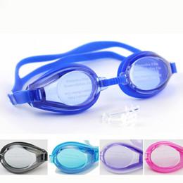 occhiali blu rossi adulti Sconti Sport acquatici all'aperto Nuoto Occhiali Occhiali da sub Immersioni subacquee Occhiali da vista Costumi da bagno Per uomo Donna Bambini con cassa trasparente