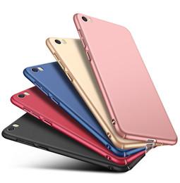 Casos mi nota online-Moda Candy Ultra Slim Matte Frosted Full Hard Platic PC Funda Funda a prueba de golpes para Xiaomi Mi 9 SE 8 6X Note Max Mix 3 F1 Play CC9 CC9E
