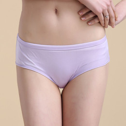 Wholesale Knitted Panties - 100% Silk Knitted Panties Women Underwear Natural Silk Knitted Fabric Plain Color High Quality Factory Direct Sale