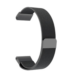 2019 reemplazar reloj Correa magnética milanesa de muñeca de lazo de acero inoxidable para Garmin Fenix 5 Forerunner 935 Approach S60 Reemplazar pulsera Watch Band reemplazar reloj baratos