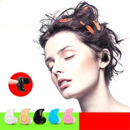 Wholesale wireless mini microphone - S530X mini Wireless Bluetooth Earphone With Microphone Cordless Headsets Handsfree Auriculares Sport Earbuds For iphone with Retail Package
