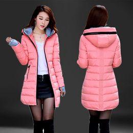 Ucuz toptan su geçirmez Sonbahar Kış moda rahat kadın palto sıcak ceket kalın uzun Lady Palto kadın sıcak Parkas C18111301 nereden