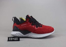53c315e8f alphabounce shoes 2019 - Free Shipping AlphaBounce Beyond W Running Shoes  Men Women Black White Red