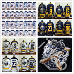Wholesale Men Winter Jack - 2018 Winter Classic Buffalo Sabres Hockey 15 Jack Eichel Jerseys 9 Evander Kane 90 Ryan O'Reilly 55 Rasmus Ristolainen 23 Sam Reinhart