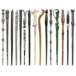 regalos de bodas de cristal Rebajas 50 piezas Artesanía Artesanía Harry Potter Varitas Harry Potter Dumbledore Hermione Voldermort Ron Luna Snape Sirio Varita mágica Moda hogar K186
