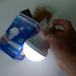 Wholesale 5w Led Bulb B22 - E27 E26 B22 LED bulbs emergency lamp 5W 7W 9W 12W manual automatic control 180 degree light street vendors use working 3-5 hours