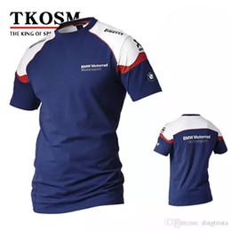 chemises de cross Promotion TKOSM 2017 T-shirt de moto BMW Moto GP T-shirt Motocross Cross Country T-shirt Mèche de transpiration Racing Moto Shirt