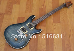 Wholesale Grey Electric Guitars - Free shipping wholesale New style grey Electric Guitar high quality signature Guitar