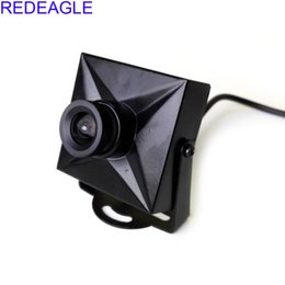 cctv mini digitalkamera Rabatt REDEAGLE Mini 700TVL CMOS verdrahtete Micro CCTV Digital Security Kamera 3.6MM 6MM Objektiv Metallgehäuse