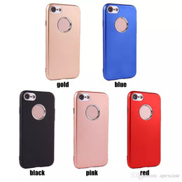2019 handytaste Hohe qualität gummi case weiche tpu metallknöpfe für iphone x 8 7 plus s7 s8plus handy fällen günstig handytaste