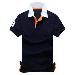 polo style classique polo américain concepteur de haute qualité pur coton mince polo qualité est très bon jeune ? partir de fabricateur
