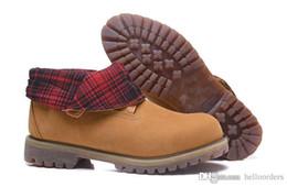 botas de madeira Desconto Nova Chegada Sapatos Botas de Madeira Laranja Preto Cáqui Multi Sneakers de Madeira Bota Sapatos Masculinos Sapatilhas De Luxo On-line