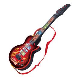 Cadeaux guitare électrique en Ligne-Nouveau Mode Haute Qualité 4 Cordes Musique Guitare Électrique Enfants Instruments de Musique Jouets Éducatifs Pour Enfants Guitare Comme Enfants Cadeaux