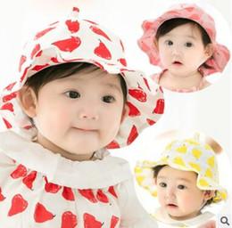 cappello estivo della benna Sconti Cappello estivo Baby Girl Boy Cap Unisex  Wide Brim Hat Secchio 4bf042b18cd5