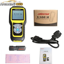 Wholesale Via Kia - OBDSTAR X300M OBDII Odometer Correction X300 M Mileage Adjust Diagnose Tool (All Cars Can Be Adjusted Via Obd) Update By TF Card