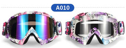 Wholesale Motorbike Cross - Top 5pcs lot certification Motorcycle goggles cross-country goggles windproof mirror ski goggles Knight goggles motorbike goggles
