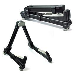 Suporte acústico on-line-AROMA AGS-08 suporte de suporte de suporte dobrável de metal para guitarra elétrica acústica