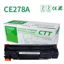 Wholesale Toner For Hp Laserjet - CTT toner cartridges CE278A CRG328 Compatible for HP78A 278A laserjet M1536dnf P1566 P1560 P1606 P1606dn Printer