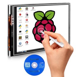 Wholesale interface monitoring - For Raspberry Pi 3 2 TFT LCD Display 3.5 Inch 480x320 TFT Touch Screen Monitor for Raspberry Pi Module SPI Interface