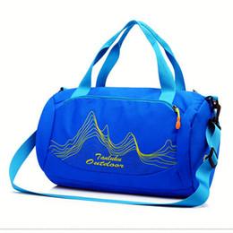 08647d311888 2018 Swimming Bag Dry   Wet Separation Sports Bag for Travelling and Swimming  Waterproof Handbag Training Shouler Bags