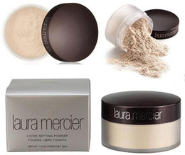 Wholesale Natural Acne - Laura Mercier Foundation Loose Setting Powder Waterproof Long-lasting Moisturizing Face Loose Powder Maquiagem Translucent Makeup 3 Colors