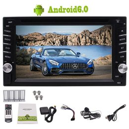 double din gps tv Promotion Eincar Double 2 Din Android 6.0 Voiture Stéréo Stéréo 6.2 '' Écran Tactile Quad Core 1GB 16GB GPS Navigation Bluetooth