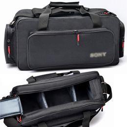 2019 boîtier de caméscope vente en gros étui de sac à bandoulière étanche sac à bandoulière pour SONY DSR-PD190P 198P HDR-FX1E NX100 NX3 HVR-Z5C boîtier de caméscope pas cher