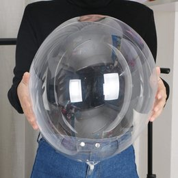 Bons plastiques en Ligne-18 pouces Bonne Qualité En Plastique Transparent BOBO Ballons en Ballons De Mariage Ballons Décoration Pour Le Dîner De Noël Fournitures De Fête