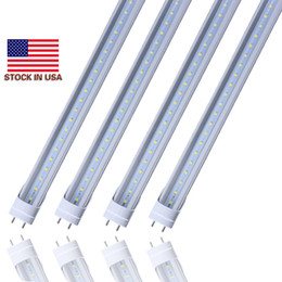 Wholesale led light bulbs direct - T8 Full Plastic LED Tubes 4ft 5ft 18W 22W G13 AC85-265V Lights PF0.9 2835SMD Plastic Fluorescent Bulbs Direct from Shenzhen China Wholesal